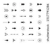 arrows icon drawing element ... | Shutterstock .eps vector #1517791286