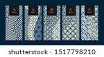 vector set packaging templates... | Shutterstock .eps vector #1517798210