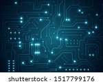 high tech technology geometric...   Shutterstock .eps vector #1517799176