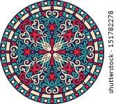 vector ornamental mandala