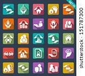 insurance  icons | Shutterstock .eps vector #151787300