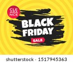 black friday sale discount... | Shutterstock .eps vector #1517945363