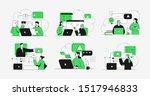online education business... | Shutterstock .eps vector #1517946833