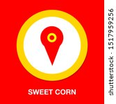 map pointer  map pin  map icon  ... | Shutterstock .eps vector #1517959256