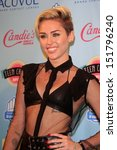 miley cyrus at the 2013 teen... | Shutterstock . vector #151796240