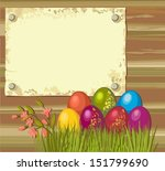 easter eggs | Shutterstock .eps vector #151799690