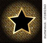 Star On The Golden Glittering...