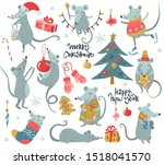 vector collection of 2020... | Shutterstock .eps vector #1518041570