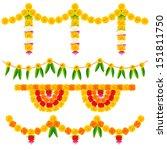 illustration of colorful flower ...   Shutterstock .eps vector #151811750
