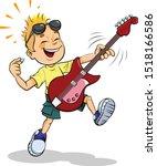 vector illustration of cartoon...   Shutterstock .eps vector #1518166586