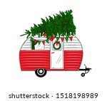 Christmas Camper With...