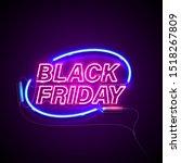 bright signage. neon black... | Shutterstock .eps vector #1518267809