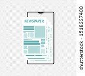 vector article writing design...   Shutterstock .eps vector #1518337400