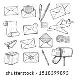 Illustration Of Post Office...
