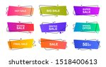 super set different shape... | Shutterstock .eps vector #1518400613