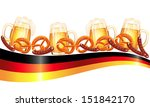 oktoberfest celebration design   Shutterstock . vector #151842170