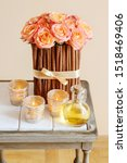 Floral Arrangement With Roses...