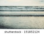 Sea Wave In Vintage Style