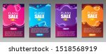 vector modern fluid for big... | Shutterstock .eps vector #1518568919