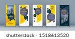business roll up set. standee...   Shutterstock .eps vector #1518613520