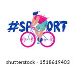 concept in flat style with... | Shutterstock .eps vector #1518619403