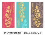 luxury packaging design of... | Shutterstock .eps vector #1518635726