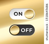 on and off gold toggle switch...