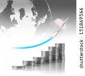business financial concept.... | Shutterstock . vector #151869566