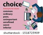 business concept keywords...   Shutterstock .eps vector #1518725909