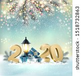 merry christmas background with ...   Shutterstock .eps vector #1518732863