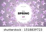 soft pastel color floral banner ... | Shutterstock .eps vector #1518839723
