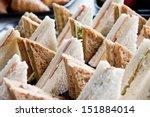 Cut Platter Of Mixed  Sandwich...