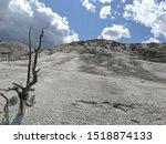 Desolate Barren Landscape Dry...