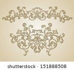 vector vintage baroque...