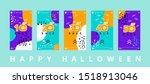 Halloween Sale Vector Banner...