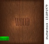 Wood Texture. Vector Background