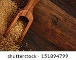 Olive Wood Measuring Scoop Wit...