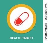 medical pills icon  medicine... | Shutterstock .eps vector #1519003496