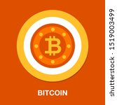 Bit Coin Icon  Vector Currency...