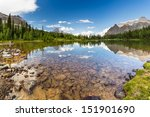 Shaffer Lake  Yoho National Park