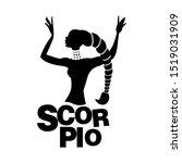 Tribal Zodiac. Scorpio. Elegan...