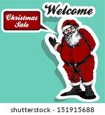 santa | Shutterstock .eps vector #151915688