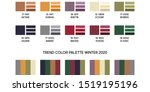 new fashion color trend winter... | Shutterstock .eps vector #1519195196