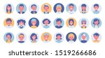 teens and kids avatar big... | Shutterstock .eps vector #1519266686