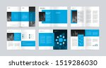 template layout design with... | Shutterstock .eps vector #1519286030