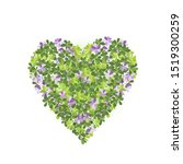 vector illustration of heart... | Shutterstock .eps vector #1519300259