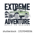 vector illustration off road... | Shutterstock .eps vector #1519340036