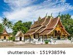 wat xieng thong temple luang... | Shutterstock . vector #151938596