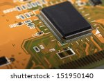 printed circuit board with many ... | Shutterstock . vector #151950140