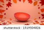 orange red semicircle... | Shutterstock . vector #1519504826